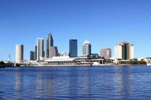 A picture of Tampa Bay.